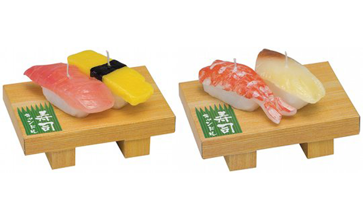 047 - IN TEXT - Sushi candles
